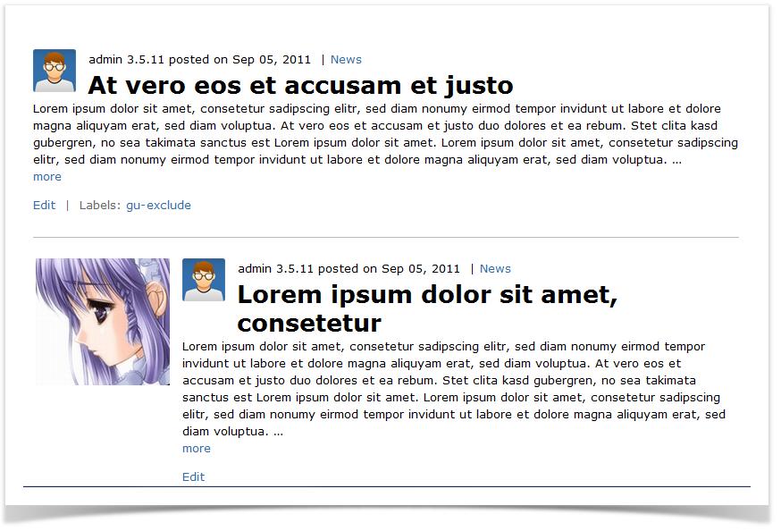 Blog Posts & Pages - Enterprise Theme for Confluence ...